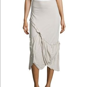 •Neon Buddha• Bay Ruffle Asymmetric Skirt Sz M